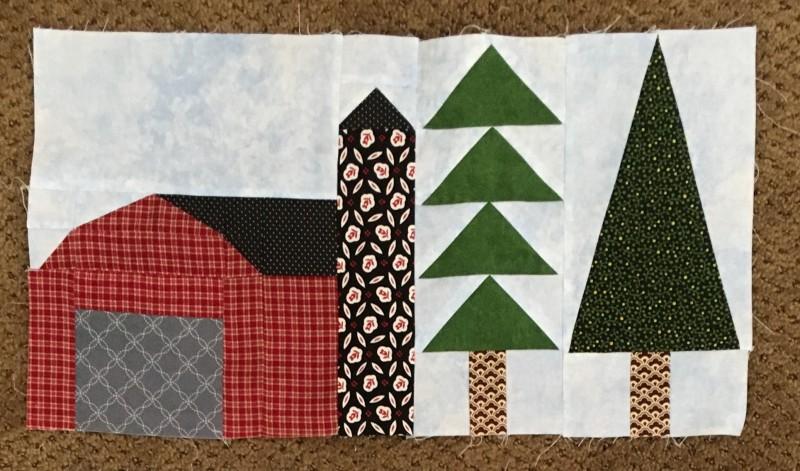 ShaRee barn & trees